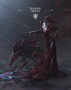 ArtStation - Bloody Queen, R X