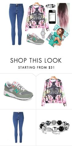 """""""Hope Your Wi-fi Dies"""" by marsophie ❤ liked on Polyvore featuring New Balance, Glamorous, David Yurman and DKNY"""