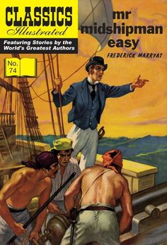 classics illustrated midshipman easy - Google Search