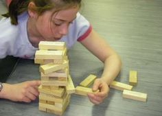 Yoga Jenga - always a favorite! Transform a regular jenga game into a yoga superstar - kids (& teens) will request it again & again