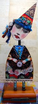 Mary Jane Chadbourne for her Artful Gatherings class, Summer, 2014