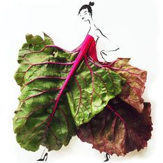27Gretchen Roehrs fashion food illustration 6
