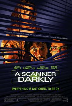 A Scanner Darkly - Review: Richard Linklater(Before Sunset (2004), Boyhood (2014), Before Midnight (2013), Dazed and… #Movies #Movie