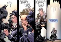 """""""I'll hold you together,"""" Batman and Catwoman: Injustice: Gods among us #17"""