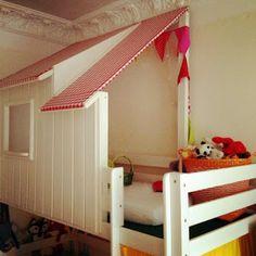 Kinderbett häuschen  Alta Kinderbett Strandhütte bei kinderraeume.de | Kinder Bett ...