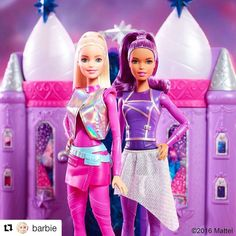 Let your imagination soar with the Barbie Star Light Adventure dolls based on the movie, now available in leading toy stores nationwide. Barbie 2016, Mattel Barbie, Barbie Dolls, Barbie Pink Passport, Barbie Kitchen, Doll Clothes Barbie, Birthday Cake Girls, Birthday Cakes, Barbie Fashionista