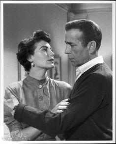 Ava Gardner and Humphrey Bogart