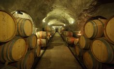New Zealand's largest wine cave.