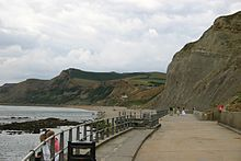 West Bay,Bridport England - one of the prettiest coastal towns in Southern England