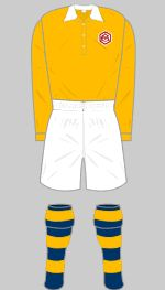 1950 Arsenal FA Cup Final Kit