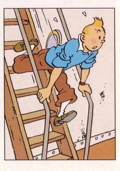 Comics Und Cartoons, Bd Comics, Tin Tin Cartoon, Captain Haddock, Herge Tintin, Ligne Claire, Animation, Nostalgia, Space Crafts