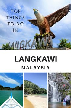 Langkawi is becoming more popular every year and it's easy to see why. Stunning beaches, a lively atmosphere at night, a sky bridge that will literally take your breath away, are some of the top things to do in Langkawi, Malaysia. #Malaysia #Langkawi