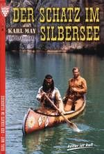 Special edition approx 2005, featuring Pierre Brice as Winnetou, and Lex Barker as Old Shatterhand, from a movie scene of the 1962 film based on Karl May's novel, The Treasure In Silver-Lake