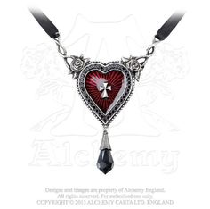 The Sacred Heart Necklace - Alchemy Gothic