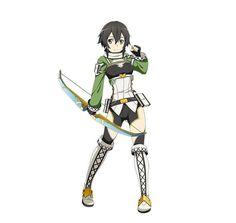 Sinon Ggo, Kirito, Arte Online, Online Art, Otaku Anime, Sword Art Online, Sao Characters, Fictional Characters, Asada Shino