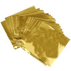 """Goedkope WSFS Hot Leuke 100 stks Sweets Candy Pakket Folie Papier Chocolade Lolly Folieomslagen Vierkante (Gold), koop Kwaliteit   rechtstreeks van Leveranciers van China: hoeveelheid: 1 set (100 stks)kleur: Goudmaat: 80mm x 80mm/3.12 """" x 3.12 """" (inch) (ongeveer)materiaal: aluminiu"""