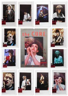 The Cure - Unofficial calendar 1987  #The #Cure #Calendar #1987 #Promo #Robert #Smith