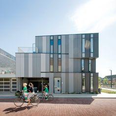 EQUITONE facade materials. Housing in leiden (NL) #architecture #material #facade www.equitone.com