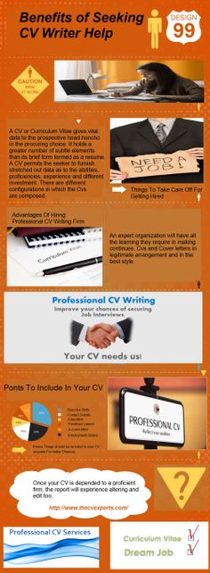 CV writers help when some one require their services regarding carrier aspect. And it must be necessary for having professional CV for better opportunities in once life. But it can be possible with the help of professional writer. And for more information on this you can visit here : http://www.thecvexperts.com/professional-cv/.