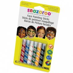 Snazaroo Unisex Face Painting Sticks £4