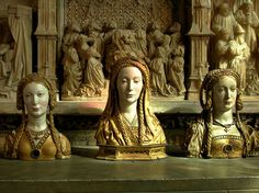 Reliquaries for the Skulls of Female Saints by tammyotoes, via Flickr