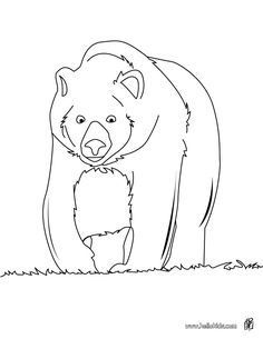 Big brown bear coloring page. Let your imagination soar and color this Big brown bear coloring page with the colors of your choice. Print out more . Crayola Coloring Pages, Shopkins Colouring Pages, Horse Coloring Pages, Free Coloring Sheets, Coloring Pages To Print, Free Printable Coloring Pages, Coloring Pages For Kids, Coloring Books, Paw Patrol Coloring Pages