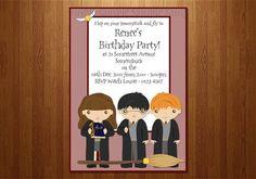 Harry Potter invite