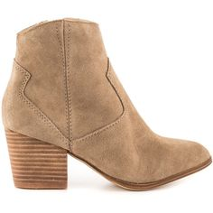Aldo Women's Marecchia - Beige (285 BRL) ❤ liked on Polyvore featuring shoes, boots, ankle booties, ankle boots, beige, leather upper boots, aldo boots, block heel boots and synthetic boots
