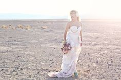 Desert Wedding by Larissa Nicole Photography