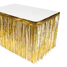 Try These Home Improvement Tips – Live Like Home White Party Decorations, Backdrop Decorations, Friends Valentines Day, Gold Color Scheme, Plastic Tables, Painted Sticks, Gold Table, Graduation Party Decor, Backdrops For Parties