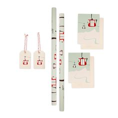 Articolo: PLEASEDTOMEET2021The Gondola gift set includes 2 gift wraps, greeting cards and hangtags with matching designs. This set is made from cream coloured, natural paper from responsible forestry, with a silky smooth surface. Designed, printed and assembled in local production in Germany.
