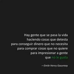 Frase-Emile Henry.