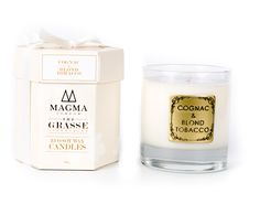 COGNAC & BLOND TOBACCO – CANDLE – Magma London