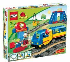 Lego Duplo Mi Primer Maletin De Tren 5608 Duplo Placa De Base Duplo Verde 2304
