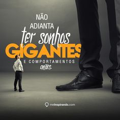 É não adianta! Personal And Professional Development, Positive Thoughts, Wise Words, Behavior, Reflection, Coaching, Inspirational Quotes, Positivity, Humor