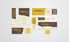Brent Couchman Design & Illustration: labels for Fossil men's apparel