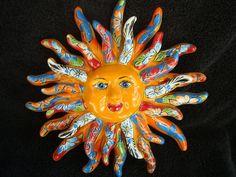 Talavera Sun, Sol, Life, True Mexican Art, Artist Gerardo Garcia (Resplandor) | Collectibles, Cultures & Ethnicities, Latin American | eBay!