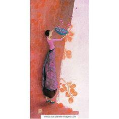 Carte Gaëlle Boissonnard 2017 - L'envolée de coeurs - 10.5x21 cm - Planete-images.com