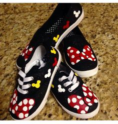 Minnie Mouse Mommy & Me Shoes