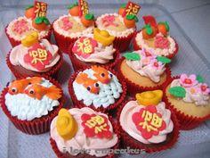 chinese cupcakes