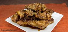 Sesame Honey Lime Chicken Wings - Marijuana Recipes - Powered by @cannnabischeri