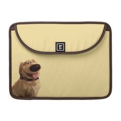 Dug the Dog from Disney Pixar UP - smiling MacBook Pro Sleeve