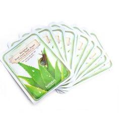 [Baviphat] Snail Cure Mask Sheet * 10 PCS