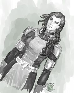 Kuvira -Legend of Korra by marieartcorner.de... on @deviantART.  It might sound weird, but i wish they couldv made kora and kuvira friends in the end. I think kuvira had good intentions, wanting to unite and uplift her people, but she got lost in her ambition. She lived long enough to see herself become a villain. Her parents abandoned her, so naturally she relied on herself. She didnt have anyone to guide her when she started going wrong, she had to be beat down, broken and defeated to…