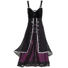 Steampunk dress from Pyramid Collection