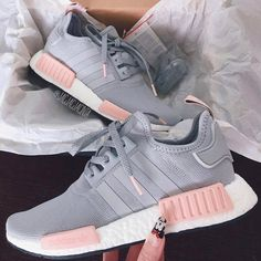 Adidas Women Shoes - ADIDAS Women Running Sport Casual Shoes NMD Sneakers Grey - We reveal the news in sneakers for spring summer 2017 Women's Shoes, Me Too Shoes, Shoe Boots, Nike Shoes, Grey Shoes, Strappy Shoes, Heeled Boots, Court Shoes, Roshe Shoes