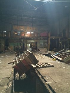 Abandoned rubber duck factory in Cleveland, Ohio