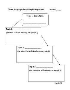 Essay Brainstorming Template tips on academic study skills for ...