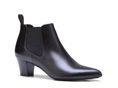 Gucci Helene black leather low heels ankle boot - Italian Boutique €480