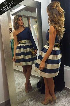 Totalook Louver!! Falda Fedra combinada con blusa Tatiana de nueva colección. Disponible en nuestro showroom!!
